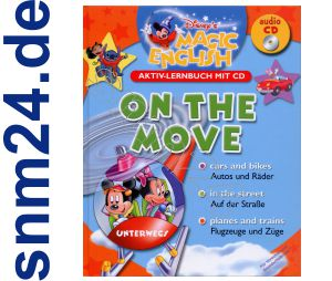 Disney Magic Englisch lernen mit CD - On the move - Buch Grundschule Vorschule