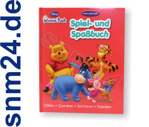 Winnie Puuh Das Spiel- und Spabuch fr Kinder im Vorschulalter - NEU