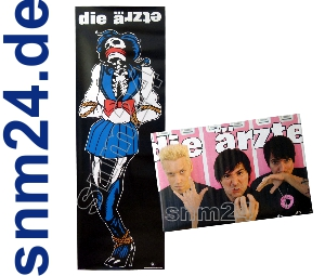 Die rzte Schulgwen Knochen Gwendoline Tr-Poster + Pink Spind-Poster NEU
