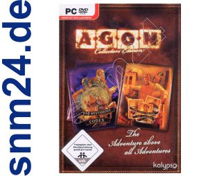 AGON Collectors Edition (DVD-ROM) - alle AGON Abenteuer in einer Box - NEU+OVP