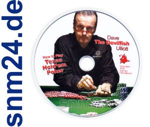 DVD von Dave Ulliott The Devilfish - How to Play Texas Hold'em Poker - Lehrfilm