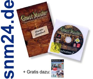 Ghost Master fr Playstation 2 DVD Vollversion Deutsch + Handbuch + EyeToy Chat